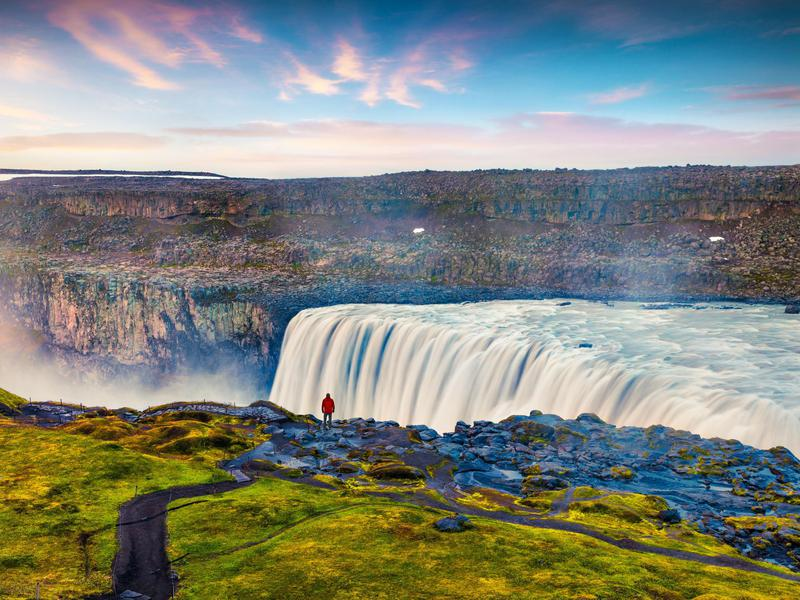Dettifoss is known to be one of the most powerful waterfalls in the world.