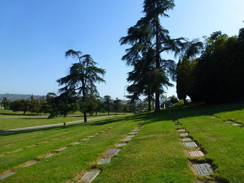 Forest Lawn is as pristine and cheery as Disneyland.
