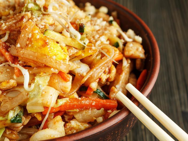 Pad thai is a big hit in Thailand and the U.S. alike.