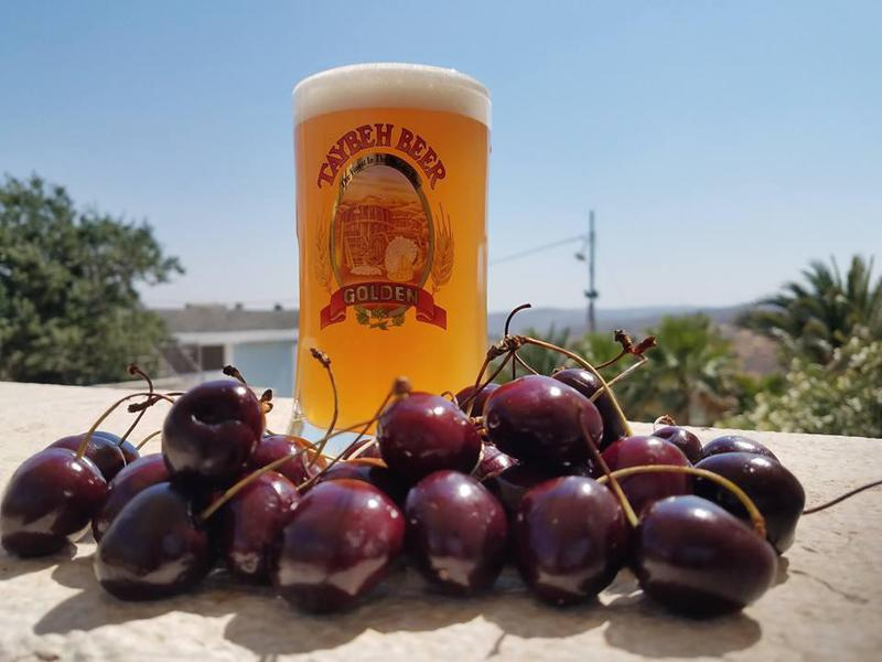The Middle East's first Palestinian-owned microbrewery serves a wonderful Summer Cherry Sour beer.