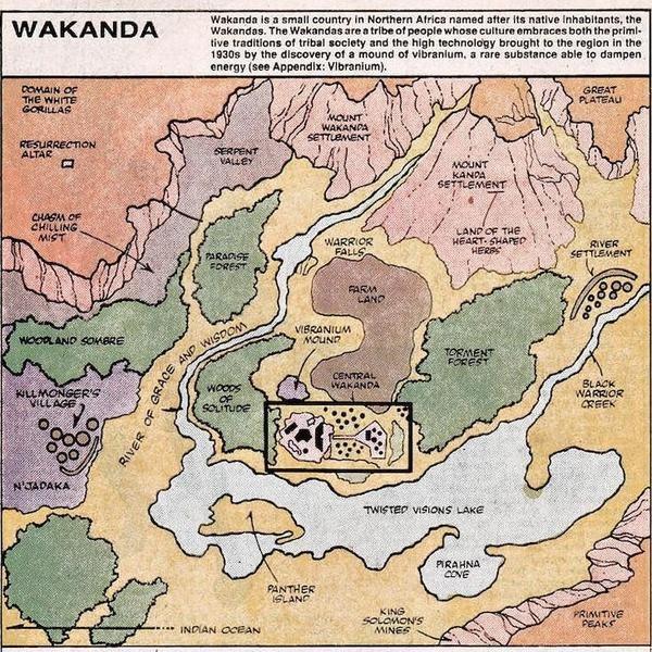 Amazing Fictional Maps