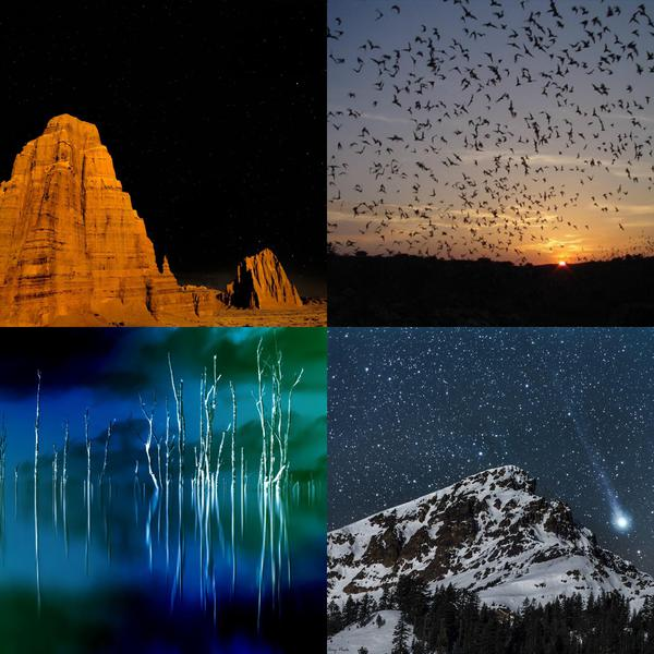 Amazing Shots of National Parks at Night