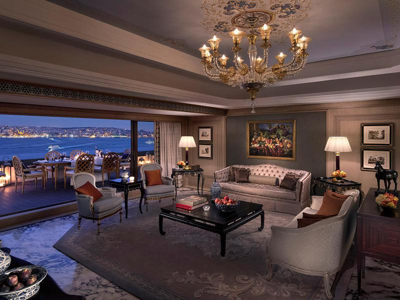 With nearly 4,000 square feet of space, this suite offers plenty of space to roam.