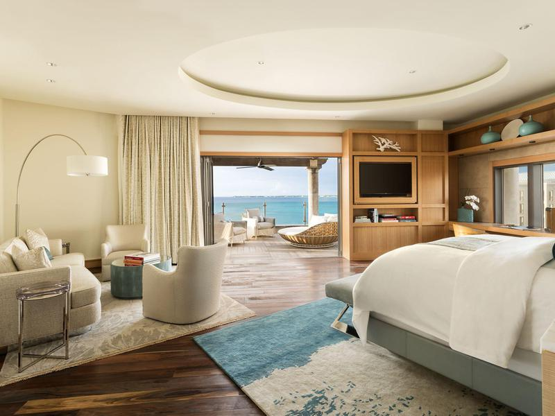 No fewer than 22 guests can comfortably stay in the Seven South Suites.