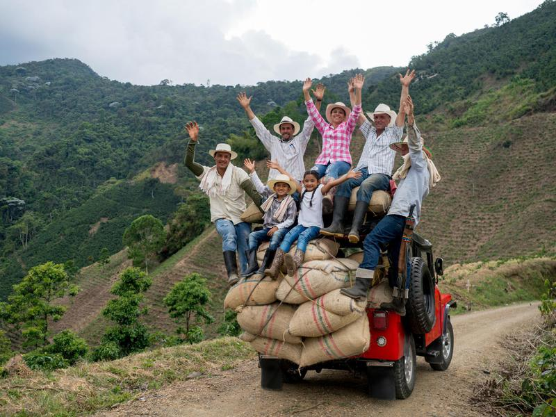 Visit Colombia's coffee region for extraordinary brews and mingling with the locals.
