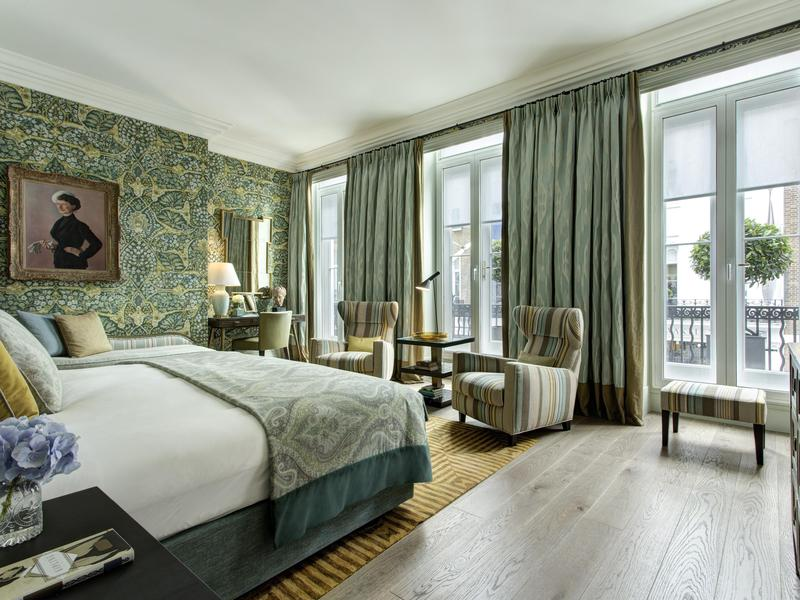 This suite is named after one of England's most famous authors.