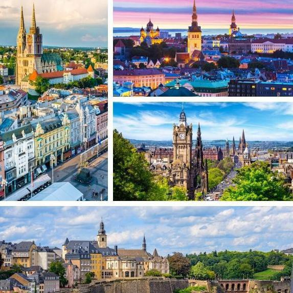European Capital Cities, Ranked From Worst to First