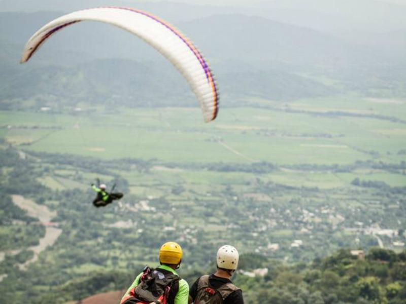 Paragliding will take your honeymoon to new heights.