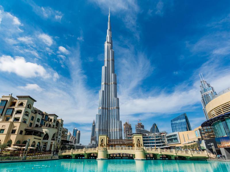 El edificio más alto del mundo cuenta con 163 plantas.