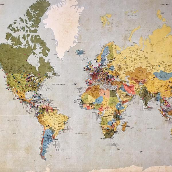 21 Maps of the World That Made Us Say 'No Way'