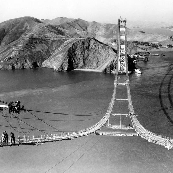 The Extraordinary History of the Golden Gate Bridge