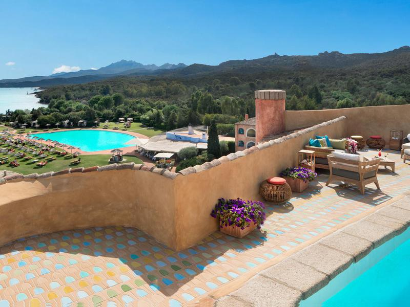 The penthouse suite at Hotel Cala di Volpe costs over $40,000 per night. It is far from the priciest option on this list.
