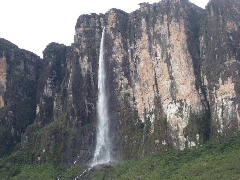 Venezuela's second tallest waterfall is breathtaking.