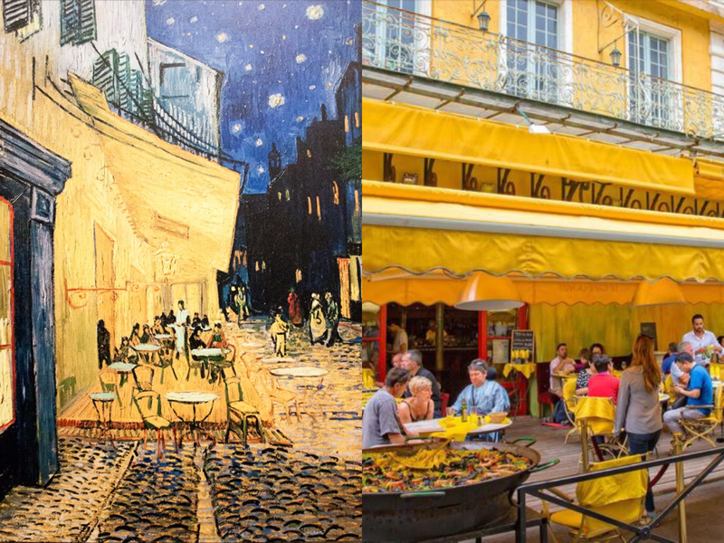 Real,Life Locations That Inspired Famous Paintings