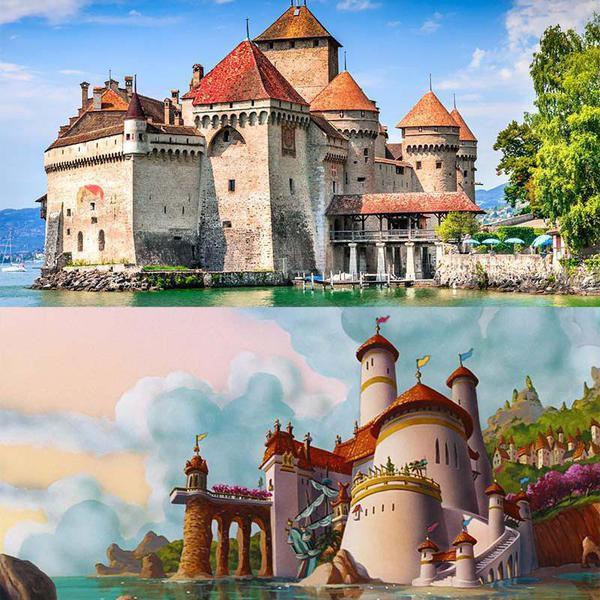 Magical Disney Movie Locations You Can Visit in Real Life