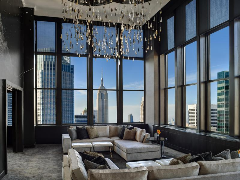 This glitz-and-glam suite is aptly named.