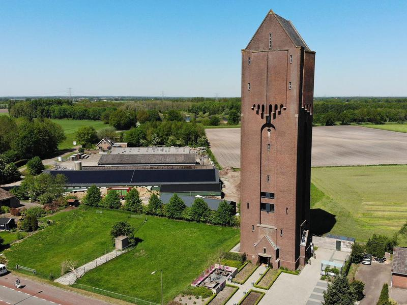 If you've ever wanted to stay over in a former water tower...now's your chance.