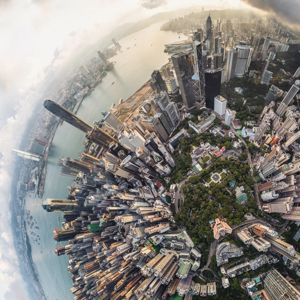 Aerial Shots of the World's Greatest Destinations, Like You've Never Seen Them Before