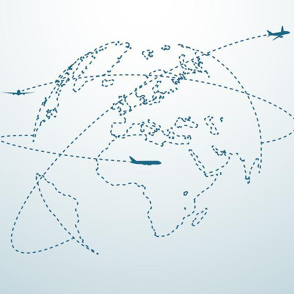 The World's 10 Busiest International Flight Routes