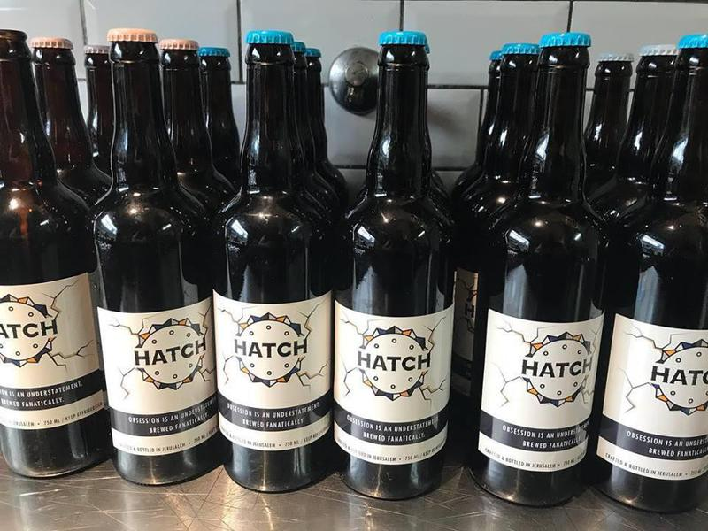 At Hatch, homebrews taste even better alongside sausage sandwiches.