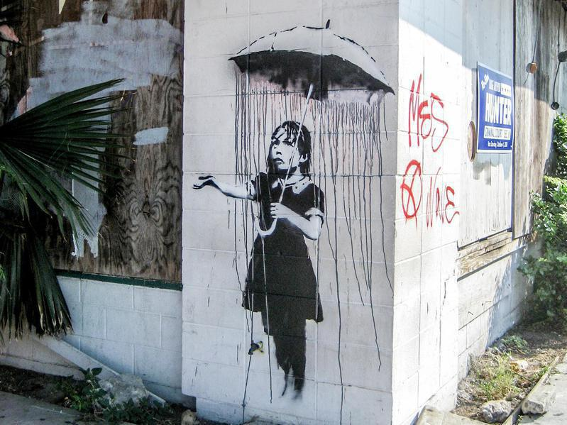 Must-See Banksy Street Art Around the World | Far & Wide