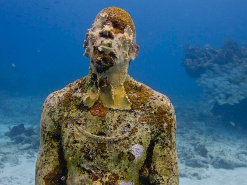 The Underwater Museum of Art is part artistic achievement, part natural marvel.