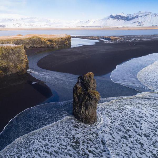 Extraordinary Black Sand Beaches Around the World