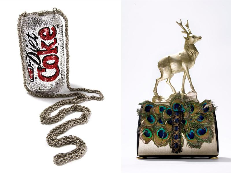 Bags on display at this museum range from the wacky to the luxurious.