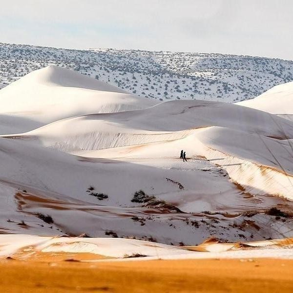 The Most Surprising Places Where It (Sometimes) Snows