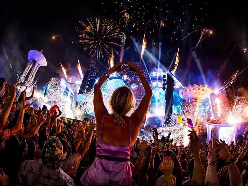 ultra music festival map