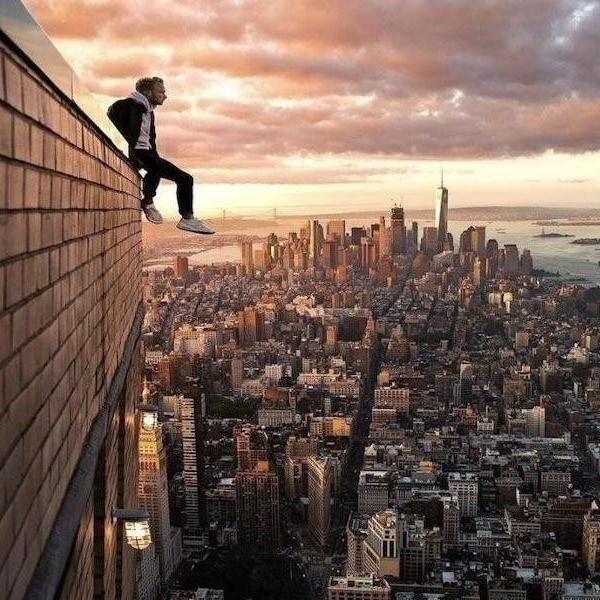 Unbelievable Photos for Those Who (Don't) Fear Heights
