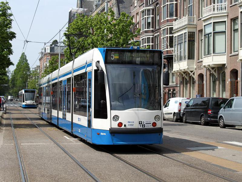 Amsterdam trams are powered by electricity generated from burning garbage.