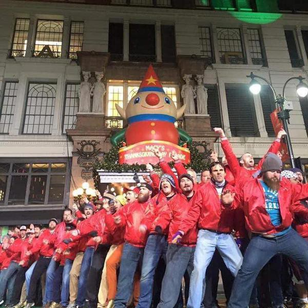 What It's Like to Be Part of the Macy's Thanksgiving Day Parade