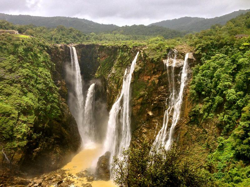 Jog Falls is India's highest un-tiered waterfall.