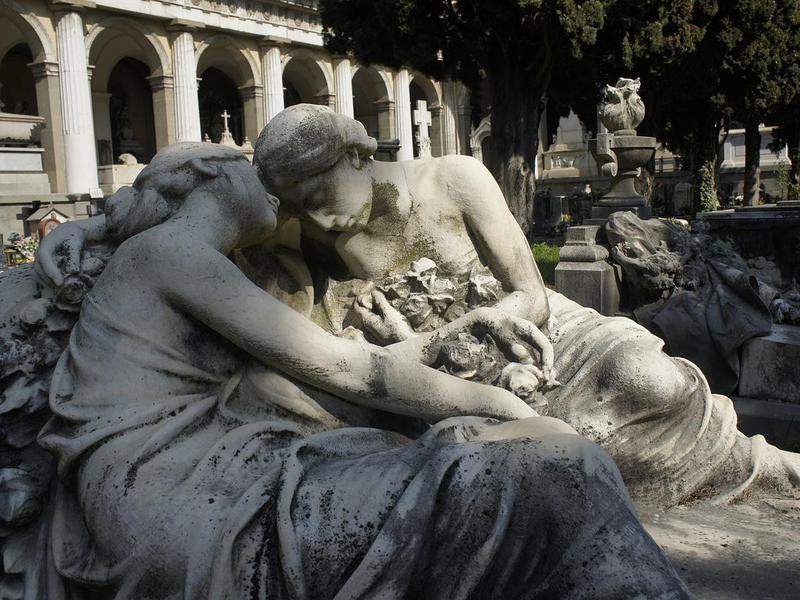 The Monumental Cemetery lives up to its grandiose name.