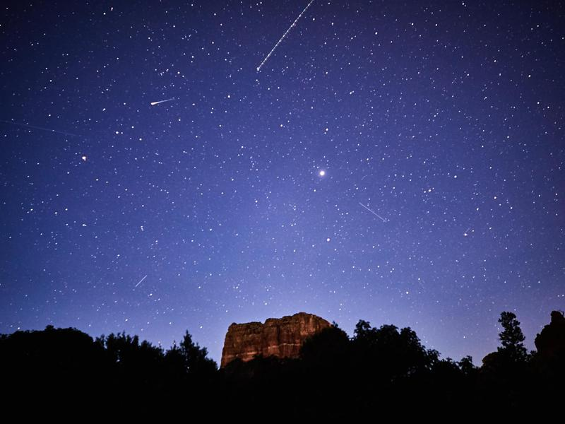 The best time to spot extraterrestrial life in Sedona is at night.