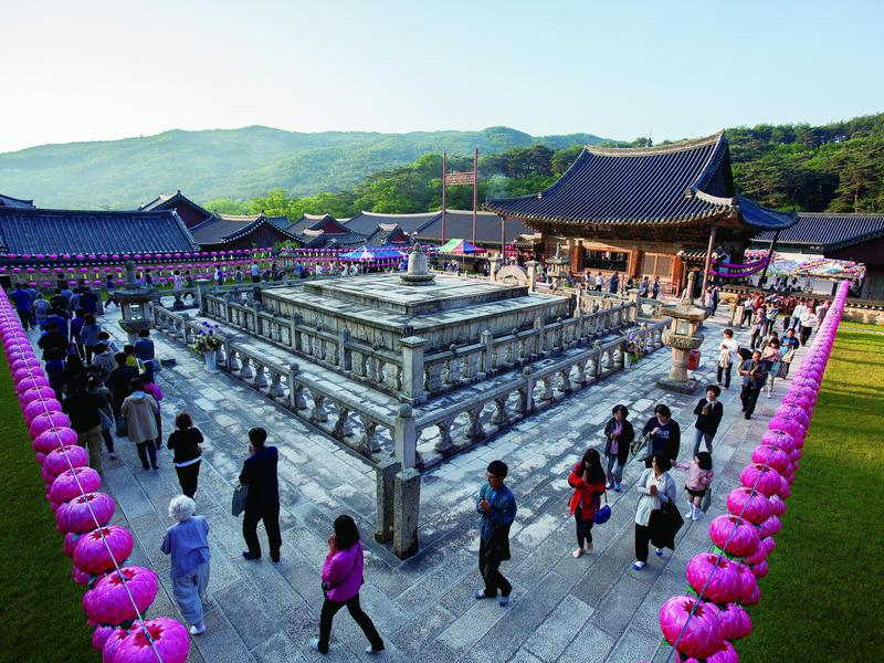 The Sansa are Buddhist mountain monasteries located throughout the southern provinces of the Korean Peninsula, established from the 7th to 9th centuries.