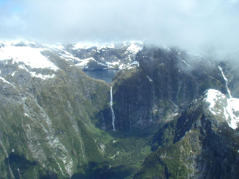 Sutherland Falls dazzles with its height.