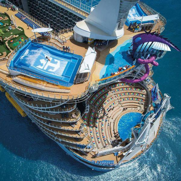 Go Big or Go Home: Largest Cruise Ships in the World