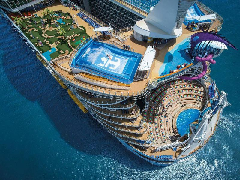 go big or go home largest cruise ships in the world far wide