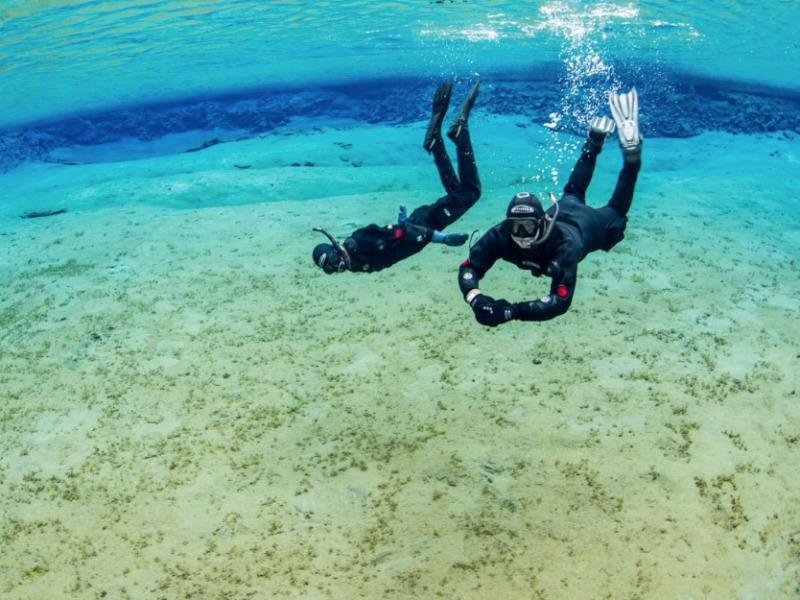 Iceland is perfect for snorkelers seeking a once-in-a-lifetime experience.