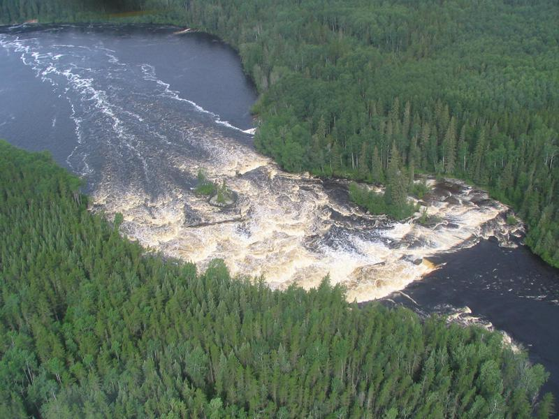 "Pimachiowin Aki (""The Land That Gives Life"") is a forest landscape crossed by rivers and studded with lakes, wetlands, and boreal forest. It forms part of the ancestral home of the Anishinaabeg, an indigenous people."