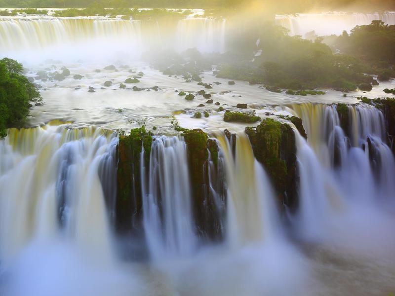 Iguazu Falls, like many waterfalls across the world, is magnificent.