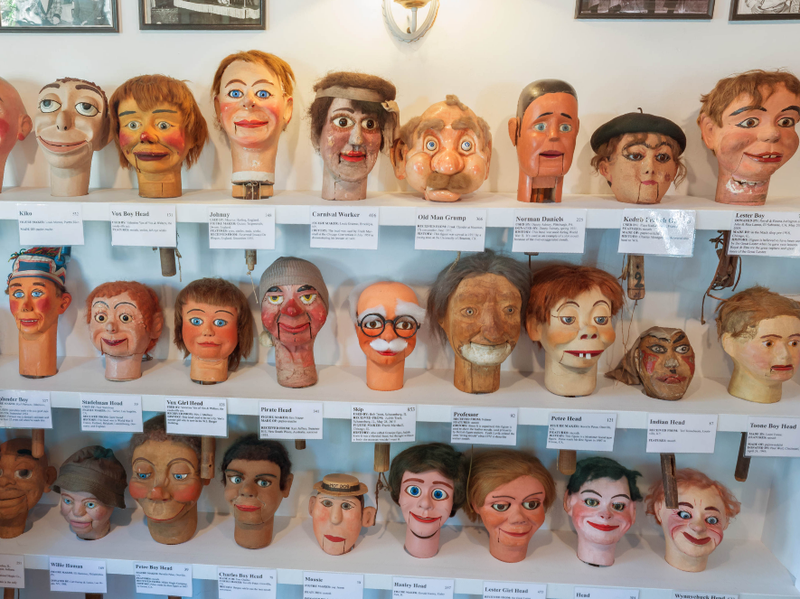 Are the exhibits at this museum creepy or cool? You decide.