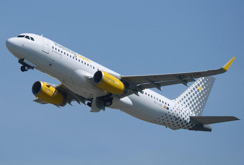Vueling Airlines es la segunda aerolínea más grande de España detrás de Iberia.