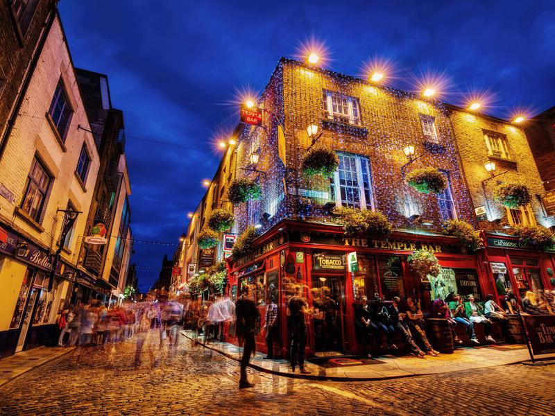 Dublin is as much a party city as a sight-seeing venue.