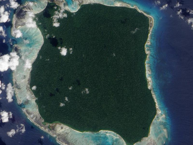 Natives have successfully kept this island to themselves for 60,000 years.