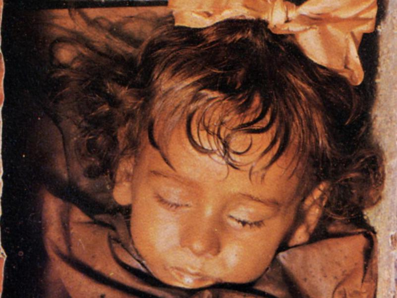 Tiny Rosalia Lombardo is considered the best-preserved mummy in the world.