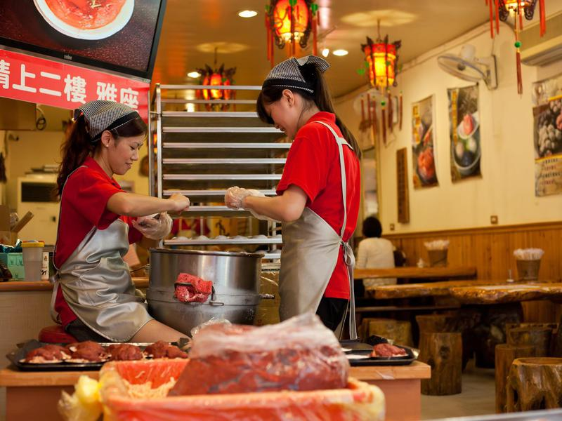 Service is superb in amiable Taiwan.
