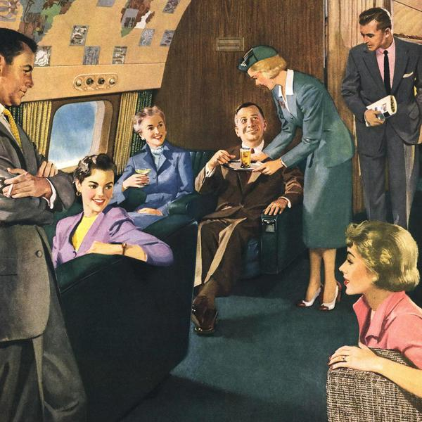 How Flying Has Changed Since the Golden Age of Travel